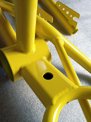 High Gloss Yellow Powder Coating Paint