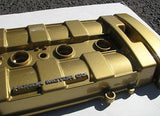 High Gloss Clear Coat Powder Coated valve cover