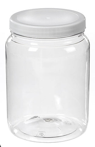 64 oz Powder Coat Storage Jar