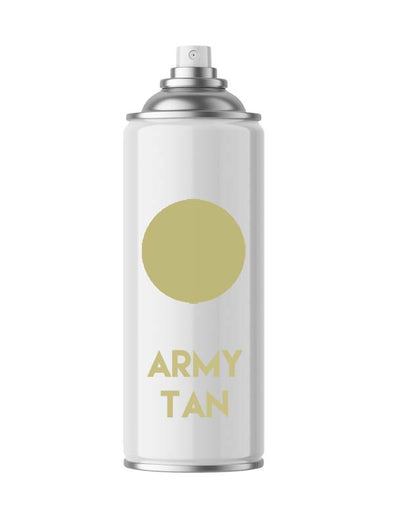 Flat Army Tan BG631 Aerosol Spray Paint Touch Up