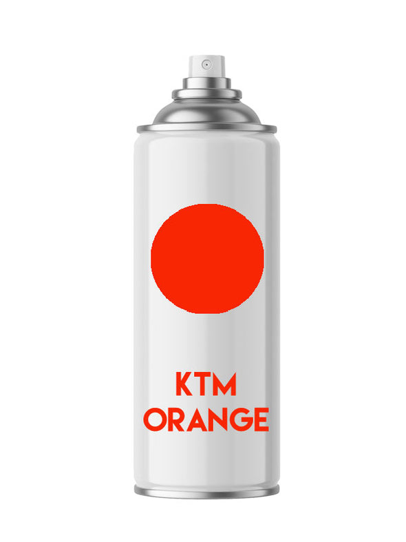 KTM Orange Aerosol Spray Paint - Aerosol