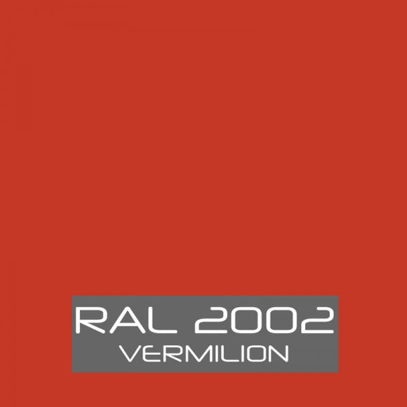 RAL 2002 Vermilion Orange Powder Coating Paint 1 LB - Powder Coating Paint