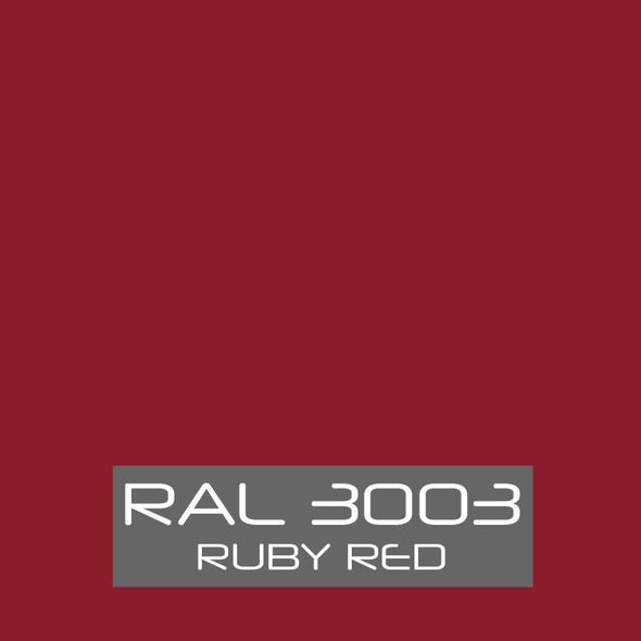 RAL 3003 Ruby Red Powder Coat Paint 1 LB - Powder Coating Paint