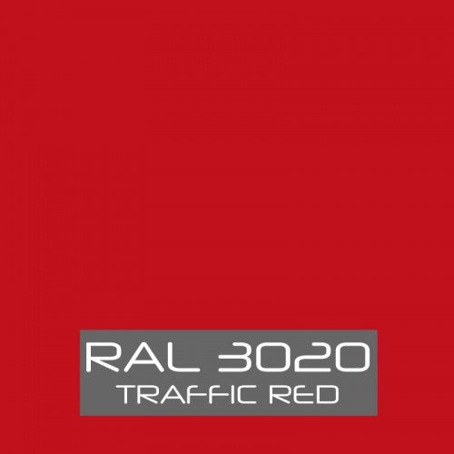 RAL 3020 Traffic Red Powder Coating Paint 1 LB - Powder Coating Paint