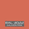 RAL 3022 Salmon Pink Powder Coating Paint 1 LB - Powder Coating Paint