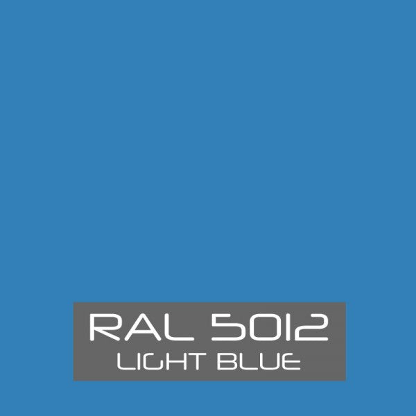 Ral 5012 Light Blue Powder Coating Paint 1 Lb
