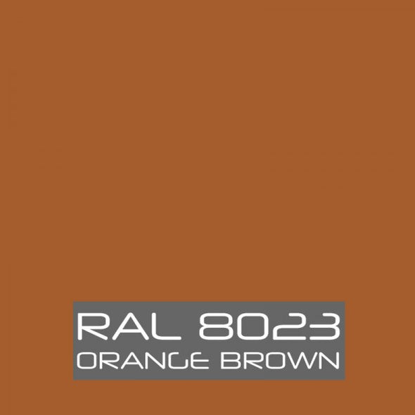 RAL 8023 Orange Brown Powder Coating Paint 1 LB - Powder Coating Paint