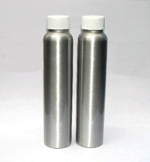 Aluminum Bottles for Powder Coating Samples - Sample Panels