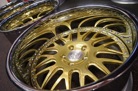 Candy Gold Powder Coating Paint