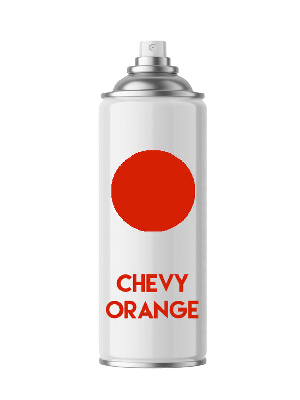Chevy Orange Aerosol Spray Paint - Aerosol