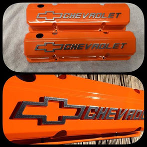 Chevy Orange Powder Coating Paint 1 LB - Powder Coating Paint