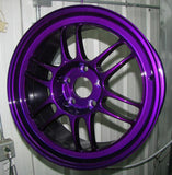 Dormant Purple Powder Coated Rims