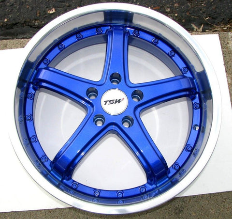 Dormant Blue True Powder Coated Rims