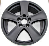 Flat Black Powder Coated Rims