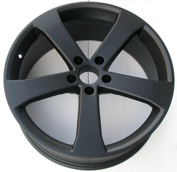 Black Powder Paint Rims