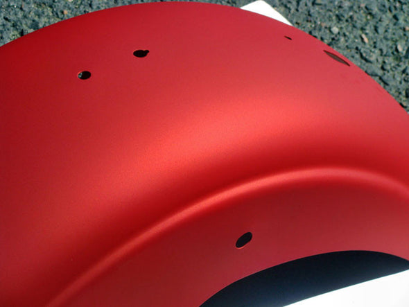Flat Red Powder Coating Paint 1 LB - Powder Coating Paint