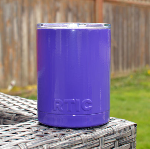 Gloss Purple Powder Coated RTIC Cup