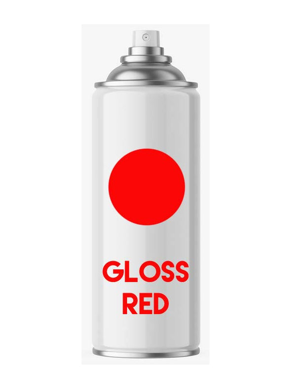 High Gloss Red Aerosol Spray Paint - Aerosol