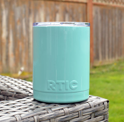 Tiffany Blue Powder Coat Paint RTIC Tumbler