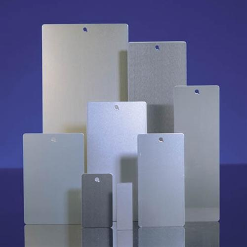 Powder Coating Sample Panels - 4 in x 6 in Blank Aluminum Ready to Coat Panels! - Sample Panels