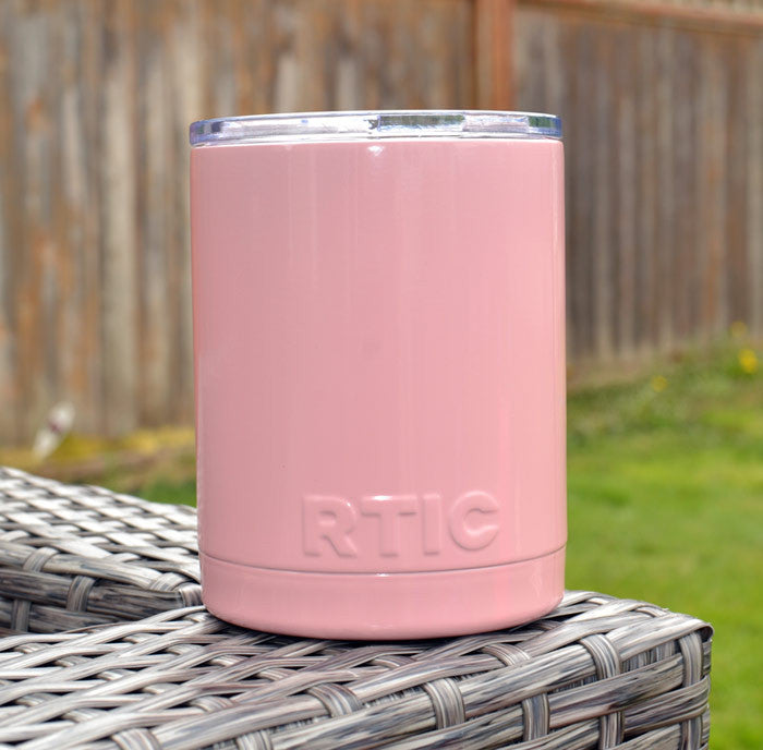 Light Pastel Pink RTIC Powder Coated Tumbler