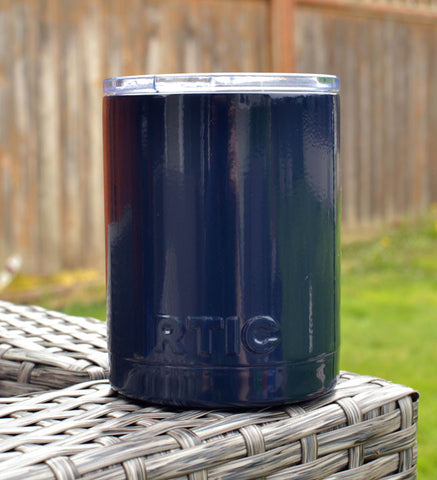 Navy Blue Powder Coated RTIC Tumbler