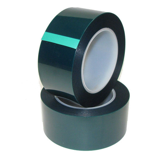 2 inch x 72 yds - High Temperature Polyester Green Masking Tape - High Temp Tapes