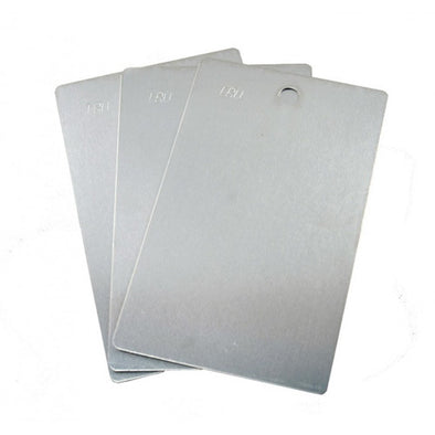 Powder Coating Sample Panels - 3x5 Blank Aluminum Ready to Coat Panels! - Sample Panels
