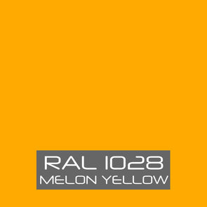 RAL 1028 Melon Yellow Powder Coating Paint 1 LB - Powder Coating Paint