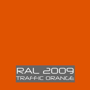 RAL 2009 Traffic Orange Powder Coating Paint 1 LB - Powder Coating Paint