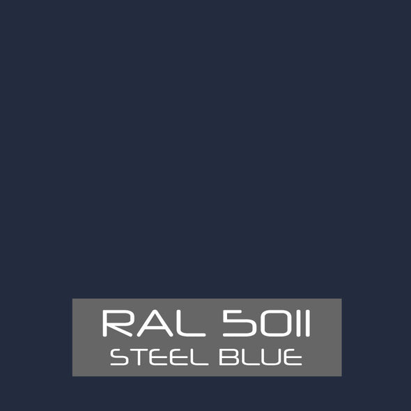 RAL 5011 Steel Blue Powder Coating Paint 1 LB - Powder Coating Paint
