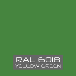 RAL 6018 Yellow Green Powder Coating Paint 1 LB - Powder Coating Paint