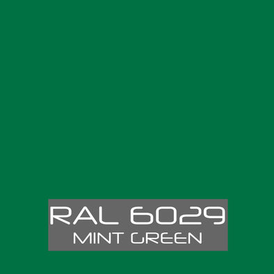 RAL 6029 Mint Green Powder Coating Paint 1 LB - Powder Coating Paint
