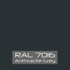 RAL 7016 Anthracite Gray Powder Coat Paint 1 LB - Powder Coating Paint