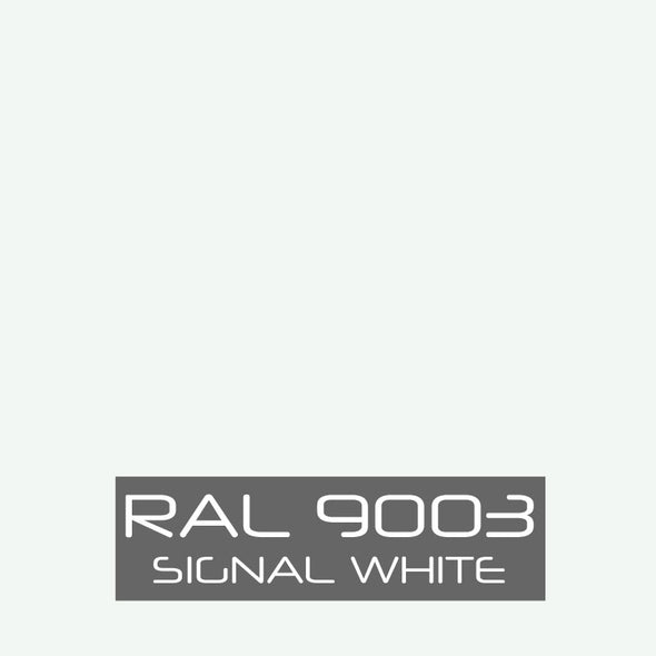 RAL 9003 Signal White Powder Coating Paint 1 LB - Powder Coating Paint