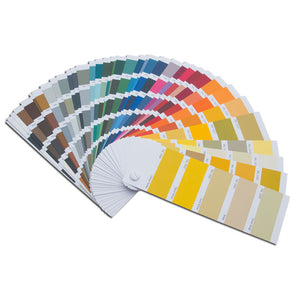 RAL Color Deck for Powder Coat and Paint - Sample Panels