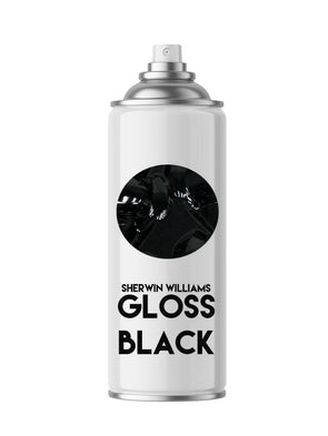 Sherwin Williams Gloss Black Aerosol Spray Paint - Aerosol