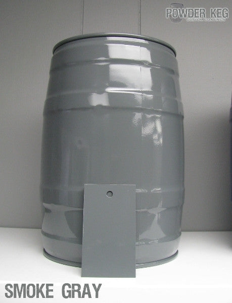 High Gloss Smoke Gray Powder Coating Paint 1 LB - Powder Coating Paint