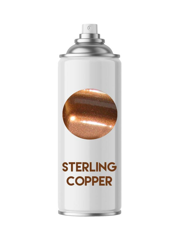 Sterling Copper Metallic Powder Coating Paint 1 LB - Powder Coating Paint