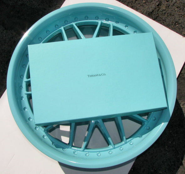 Tiffany Blue Powder Coat Powder Paint 1 LB - Powder Coating Paint