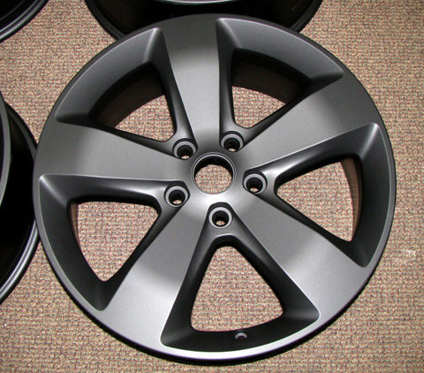 Tuscan Matte Black Powder Coated Rims