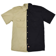 The Block Work Shirt - Black/Khaki