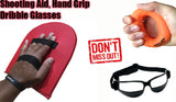 BUNDLE 3:  OFF HAND Shooting Aid, Hand Grip and Dribble Glasses