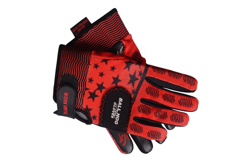 NEW 2.0 Ball Hog Gloves (Weighted) X-Factor