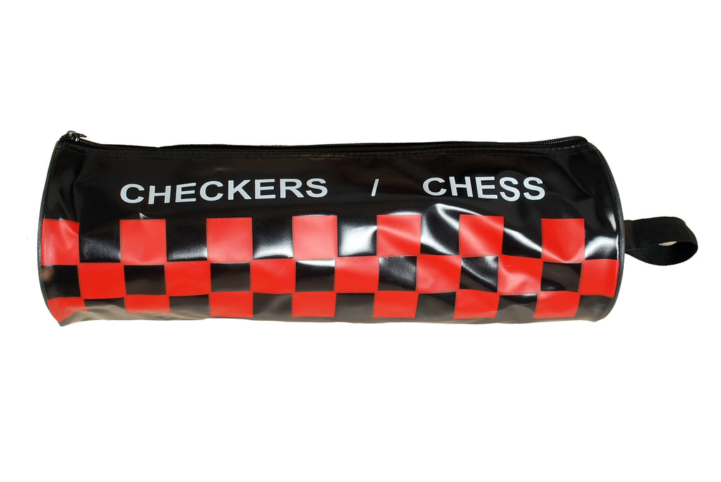 Ball Hog Basketball Roll up Checkers and Chess Set (Premium)