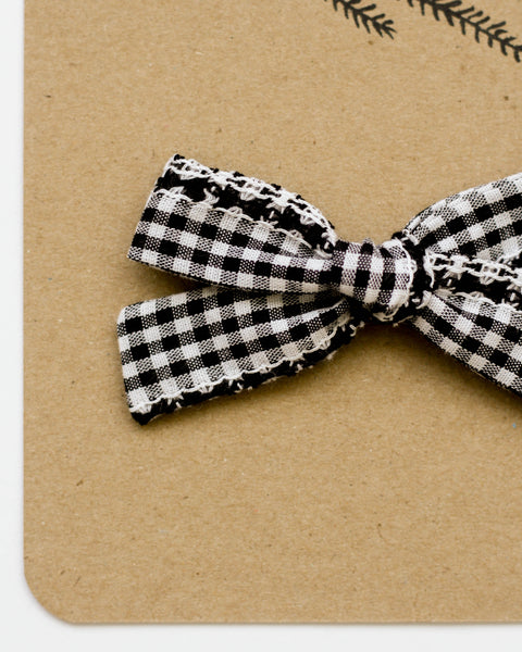 Classic Bow | Woven Gingham