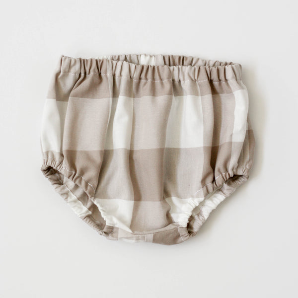 Bloomers | Mink Gingham