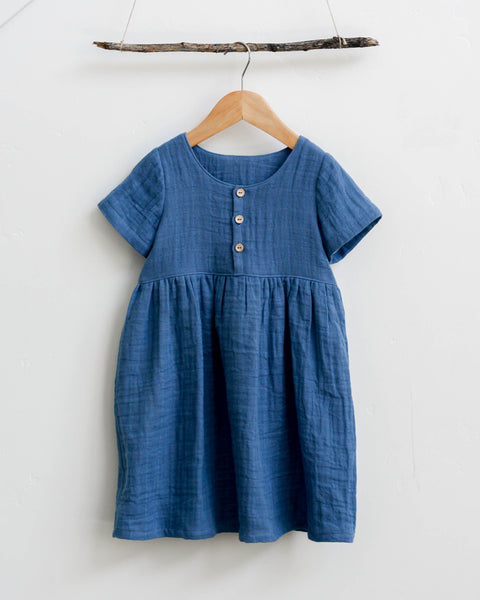 Marta Dress | Bluebell Gauze