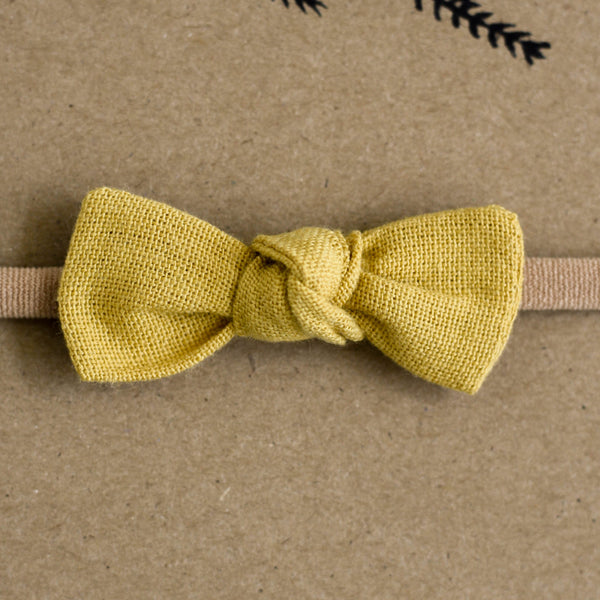Mini Bow | Honey - Pine + Honey