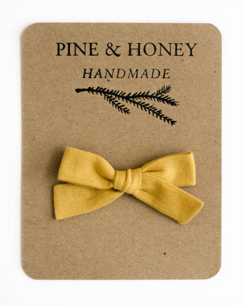 Classic Bow | Honey - Pine + Honey